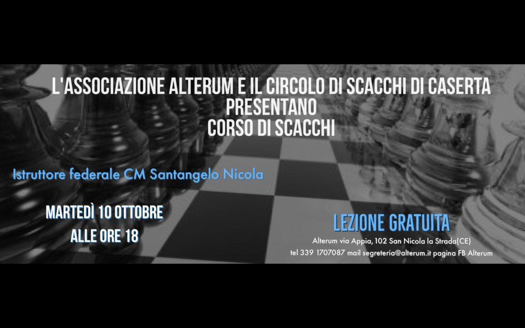 Inaugurazione corso di Scacchi